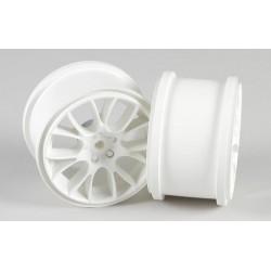 Multispoke Felge weiß 65mm