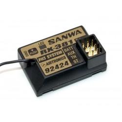 Sanwa RX-381 FHSS-3 Empfänger